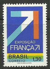 BRAZIL. 1971. FRANCA 71 Science Exhibition Commemorative. SG: 1329. Unused