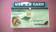 StarTech PCI425USB 4 Port USB 2.0 PCI Card