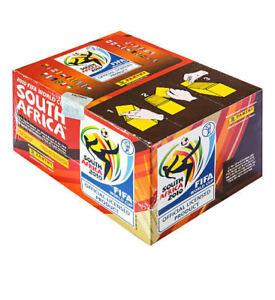 PANINI - WM FIFA World Cup SOUTH AFRICA 2010- SEALED BOX/BOITE NEUVE 100 PACKETS