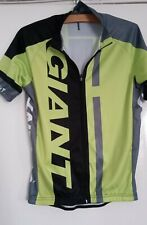 GIANT,CYCLING JERSEY. SIZE MEDIUM, 3 POCKETS IN BACK, GREEN, SHORT SLEEVE, MENS