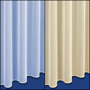 Cheshire Fine Woven Voile Net Curtain - Sold By The Metre