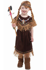Brand New Native American Indian  Princess Toddler Costume