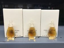 Lot Of 3- HALSTON By Halston .125oz/4ml Women PERFUME Discontinued)