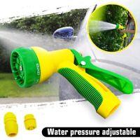 KCASA Spray Gun Soap Dispenser Garden Watering Hose Nozzle Car Washing