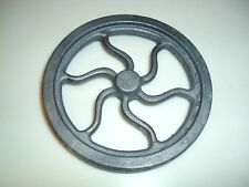 CAST IRON MODEL HIT MISS GAS ENGINE LIVE STEAM HOT AIR FLYWHEEL CASTING 4-3/4