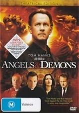 ANGELS & DEMONS Ron Howard, Tom Hanks DVD NEW
