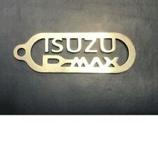 ISUZU DMAX 2mm Stainless Steel Keyring