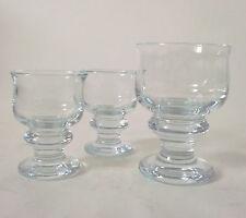 70s vintage 3 x Holmegaard Glas Per Lütken Tivoli glass set of three annees 70