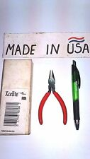 """New Xcelite 41CG 4"""" Midget Long Fine Point Needle Nose Plier NOS Made in USA"""