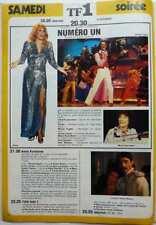 DALIDA_MICHEL FUGAIN => COUPURE DE PRESSE 1 page 1980 / CLIPPING