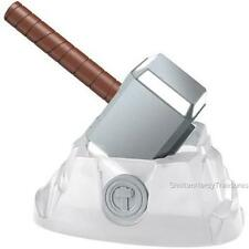 AVENGERS Marvel Science THOR Lightning Energy MJOLNIR Hammer Replica SET Toy