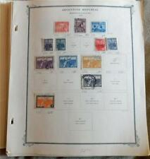 1000+ diff Argentina on Scott Pages to 1975 mint and used, much BOB, cat $750