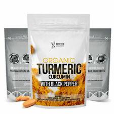 Turmeric Curcumin 1500mg Ginger & Black Pepper X 60 Capsules High Strength