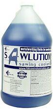 Sawlution. Sawllution Premium Sawing Coolant, 4x1 Gallon Jugs