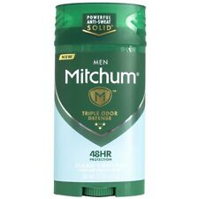 Mitchum Men Advanced Control, Clean Control Invisible Solid 2.7 oz (Pack of 4)