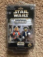 Disney Star Wars 2014 Weekends Mickey Luke & Donald Han LE Exclusive Figures