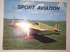 Sport Aviation Magazine Roscoe Turner Museum April 1971 010417RH