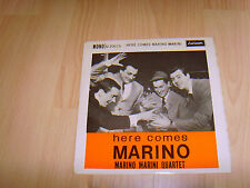"7"" single vinyl record here comes marino marini quartet"