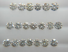 0.08cts 20pc Natural Loose Brilliant Cut Diamond SI Clarity H Color Nontreated