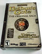 Baldur's Gate The Original Saga w/ Tales of Sword Coast Expansion Pack 1999 Win.