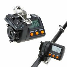 Fishing Line Counter Electronic LCD Digital Display Depth Finder Tool Tackle