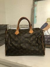 """LOUIS VUITTON"" Monogram Speedy 30 Hand Bag 100% Authentic .!!!"