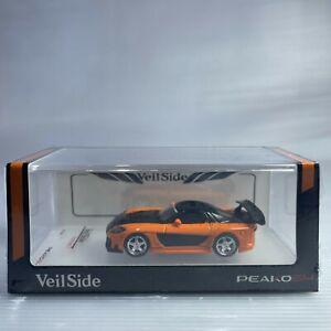 1/64 Peako peako64 Veilside Fortune 7 Mazda RX-7 FD3S Orange
