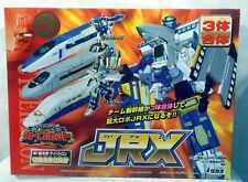Transformers 2000- Japanese JRX Rail Racer Train Set By Takara(MISB)