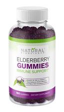 Sambucus Elderberry Gummies Family Size, 180 Gummies, with Vitamin C and Zinc
