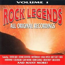 Rock Legends 1 Girlschool, Juicy Lucy, Angel Witch, Atomic Rooster.. [CD]