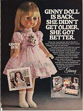 Vintage Lesney Ginny Doll Toy Ad 1978