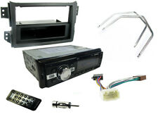 VAUXHALL AGILA MK2 08+ Car Stereo Head Unit Radio SD Bluetooth MP3, BLACK FASCIA