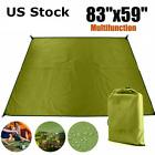 10x10 ft Camping Tent Tarp Waterproof Rain Fly Shelter Canopy Hammock Cover Set