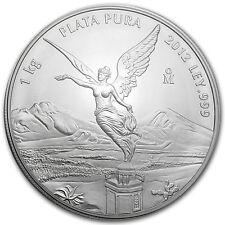 2012 Mexico 1 kilo Silver Libertad BU (In Capsule) - SKU #79702