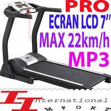 PRO 103kg! 22km/h Tapis de MARCHE COURSE 1699€ NEUF électrique FITNESS LOOPBAND