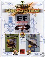 3 Spiele-Set: AH-64D LONGBOW  +  EF 2000  +  ADVANCED TACTICAL FIGHTERS   -  Top