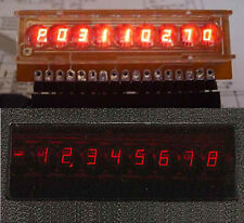 2x  7 segment 9 digit Russian  LED display calculator 5082-7441