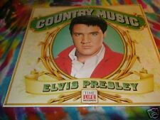 ELVIS PRESLEY- COUNTRY MUSIC-LP -TIME LIFE -'81 SEALED
