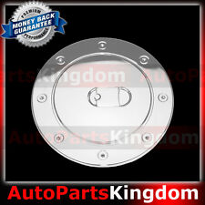 07-13 GMC Yukon+Yukon XL Stick on Triple Chrome plated Fuel Gas Cap Door Cover