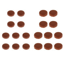 10x Alto Soprano Saxophone Sax Pads for Wind Instrument Repair Parts