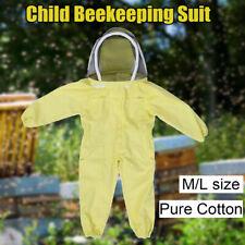 Kids Full Body Ventilated Beekeeping Suits Beekeeper Suit Fencing Veil Hood