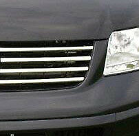 Full Chrome Grille Trim Covers Set To Fit Volkswagen T5 Transporter 03-09