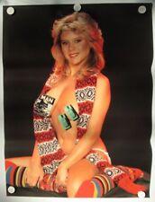 Samantha Fox Topless Vintage Original Unused Large 1980s Poster