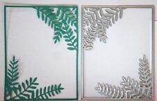 LEAF FRAME Thinlits Die Leaves Die Foliage botanical Fern