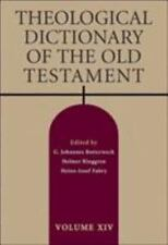 Theological Dictionary of the Old Testament (Hardback or Cased Book)