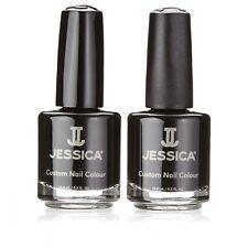 Brand New Jessica Black Beauties Duo Nail Polish Manicure Nail Art Gift Set