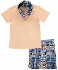"""Kensie Little Girls """"Pleated Glamour"""" 3-Piece Outfit Size 4 5/6 6X $42"""
