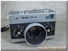 Chrome Silver 30.5mm Metal Hood for Rollei 35 S HFT Sonnar 40/2.8 camera