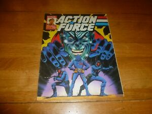 ACTION FORCE - No 13 - Date 30/05/1987 - Marvel Comic