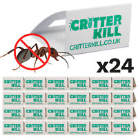 24 X ANT TRAPS KILLS ANTS CATCHER GLUE TRAP CRAWLING INSECT KILLER POISON FREE
